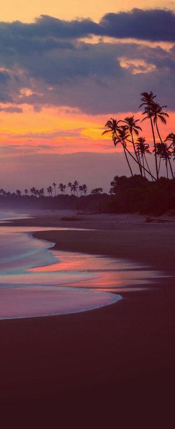 Sunset At Tangalle Beach Sri Lanka Paysage Photos Paysage Et Amenagement Jardin