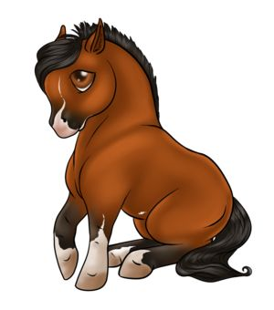 Chibi Horse Horse Cartoon Horse Drawings Chibi Drawings