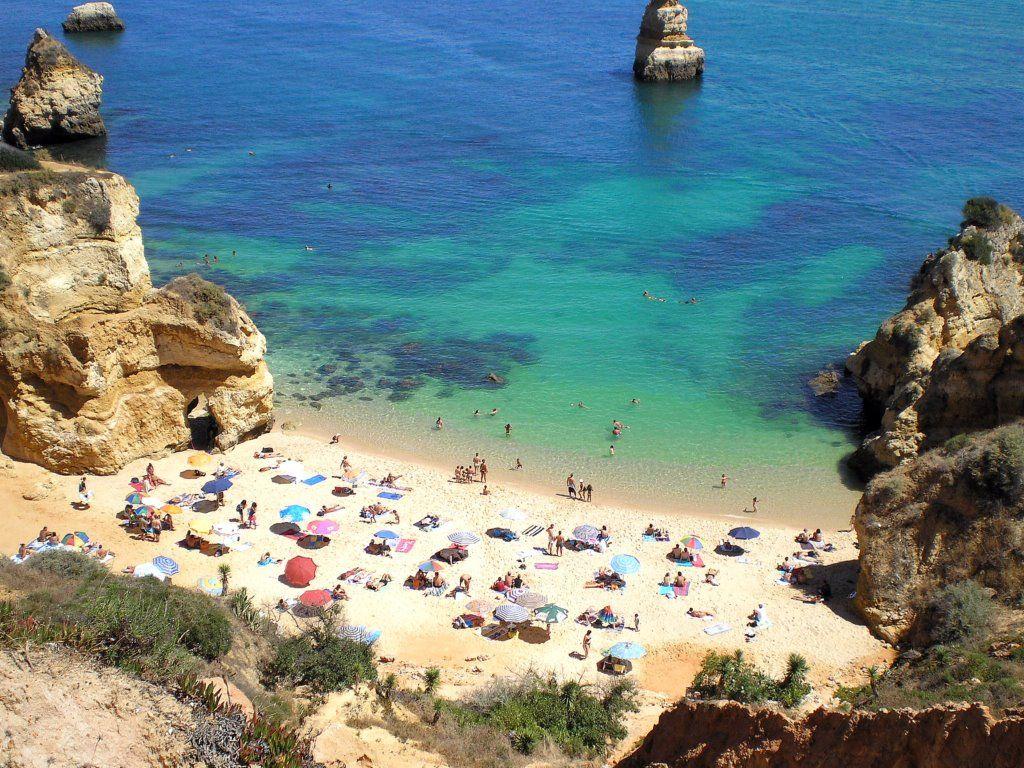La Paradisiaca Praia Do Camilo En El Algarve Algarve El Algarve Vacaciones De Verano