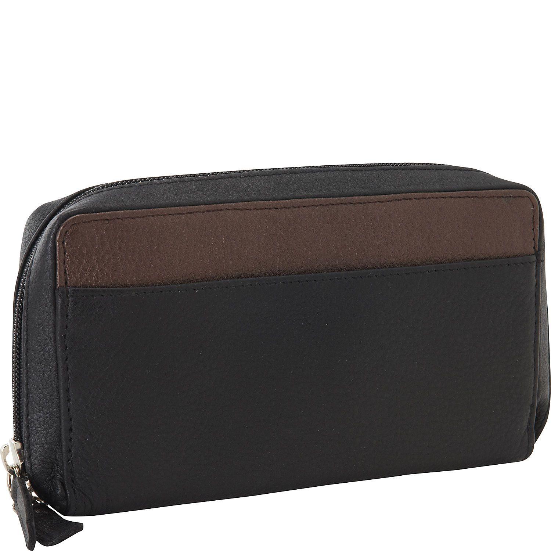 Derek Alexander Large Full Zip Organizer Clutch Wallet - eBags.com