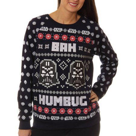 Star Wars Girls Christmas Humbug Sweatshirt