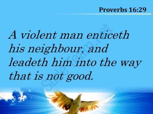 proverbs 16 29 a path that is not good powerpoint church sermon Slide05 http://www.slideteam.net/