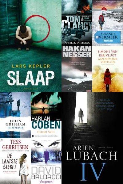 Angstaanjagende, huiveringwekkende verhalen. De beste thrillers van dit moment. Bij Boeken.com: http://www.boeken.com/thriller-top-10/