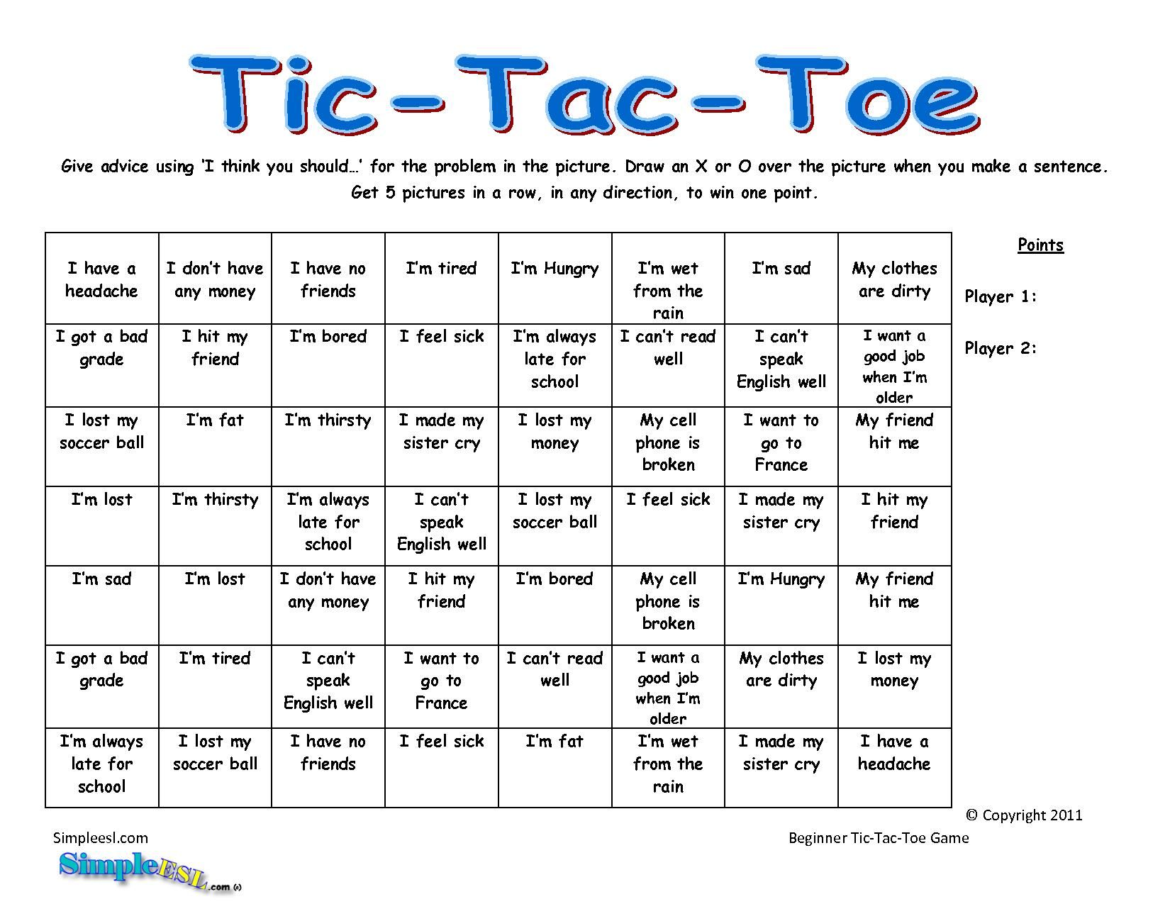 Free Coloring Pages Of Tic Tac Toe Chart