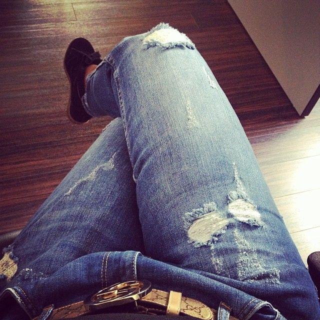Look du jour  #ootd #lookdujour #girl #style #zara #zarajeans #jeansboyfriend #gucci #guccibelt #sneakers #sneakersaddict #isabelmarant #isabelmarantbobby #strasbourg #atwork #Padgram