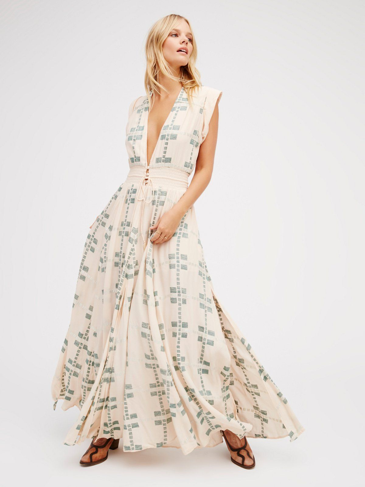 Summer flame maxi fashion style dress pinterest plunging