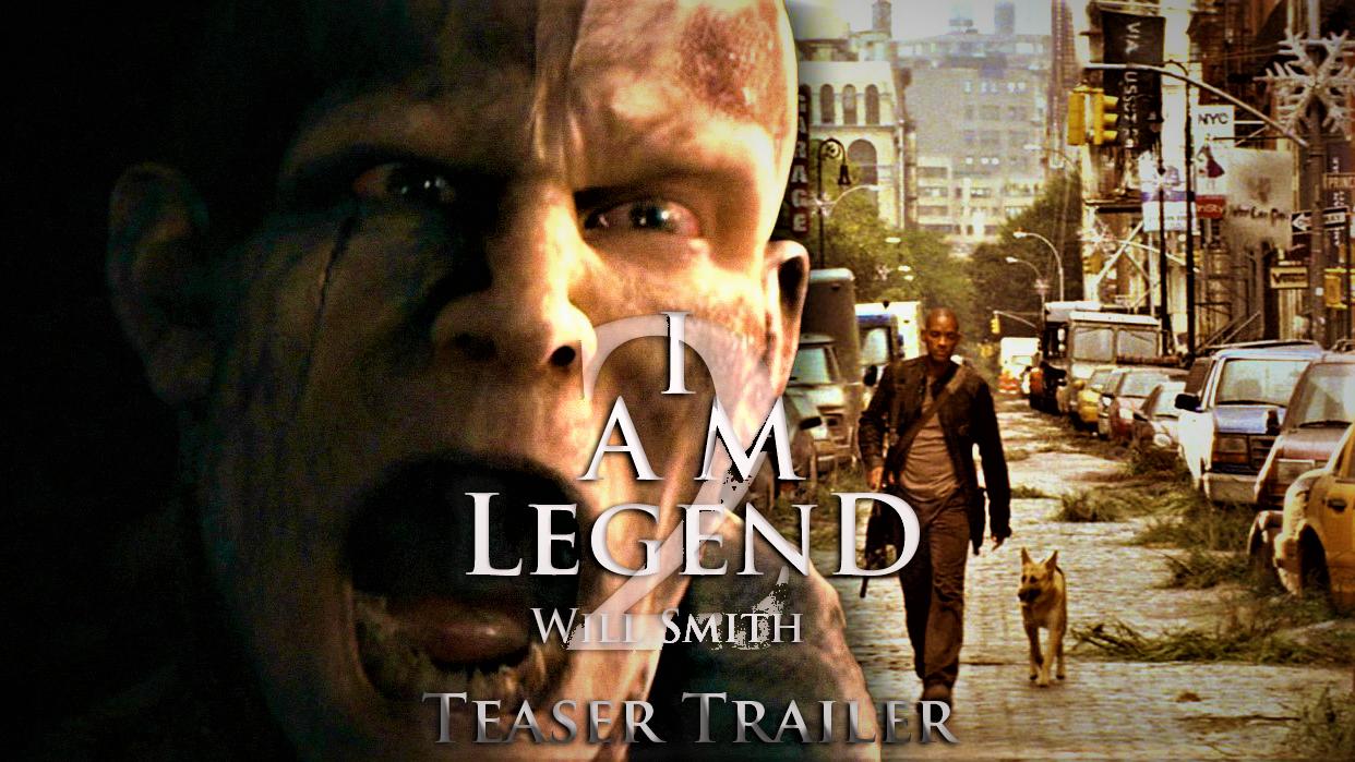 I Am Legend 2 2021 Teaser Trailer Concept Movie In 2020 I Am Legend 2 I Am Legend Legend