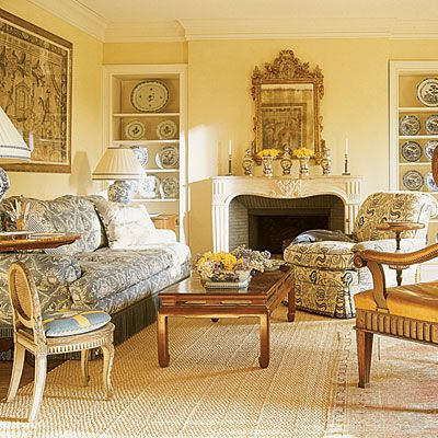 This Room Is Painted Benjamin Moore S Hawthorne Yellow