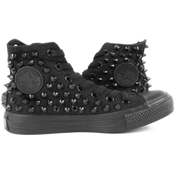 Studded converse, Studded sneakers
