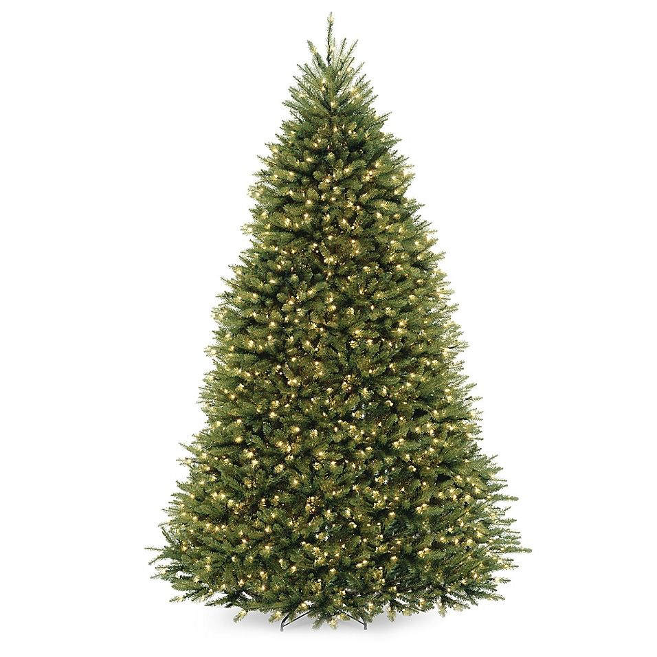 Pre Lit Christmas Tree Fuses: National Tree Company 9' Dunhill Fir Pre-Lit Christmas