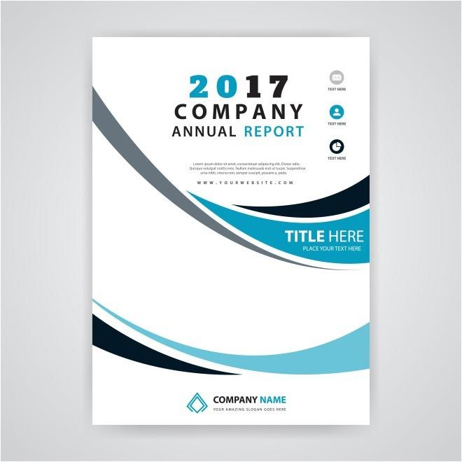 Free Vector  Company Annual Reports Brochure HttpWww