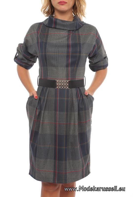 8db0e06798268d Halbarm Herbst Winter Designer Kleid Natalie