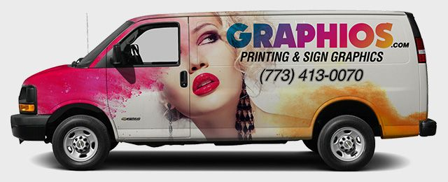 Chicago Black Matte Car Wrap Vehicle Graphics GRAPHIOS CAR - Window stickers for cars chicago
