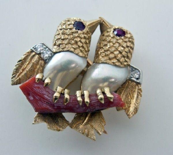 Vintage Cartier Love Birds