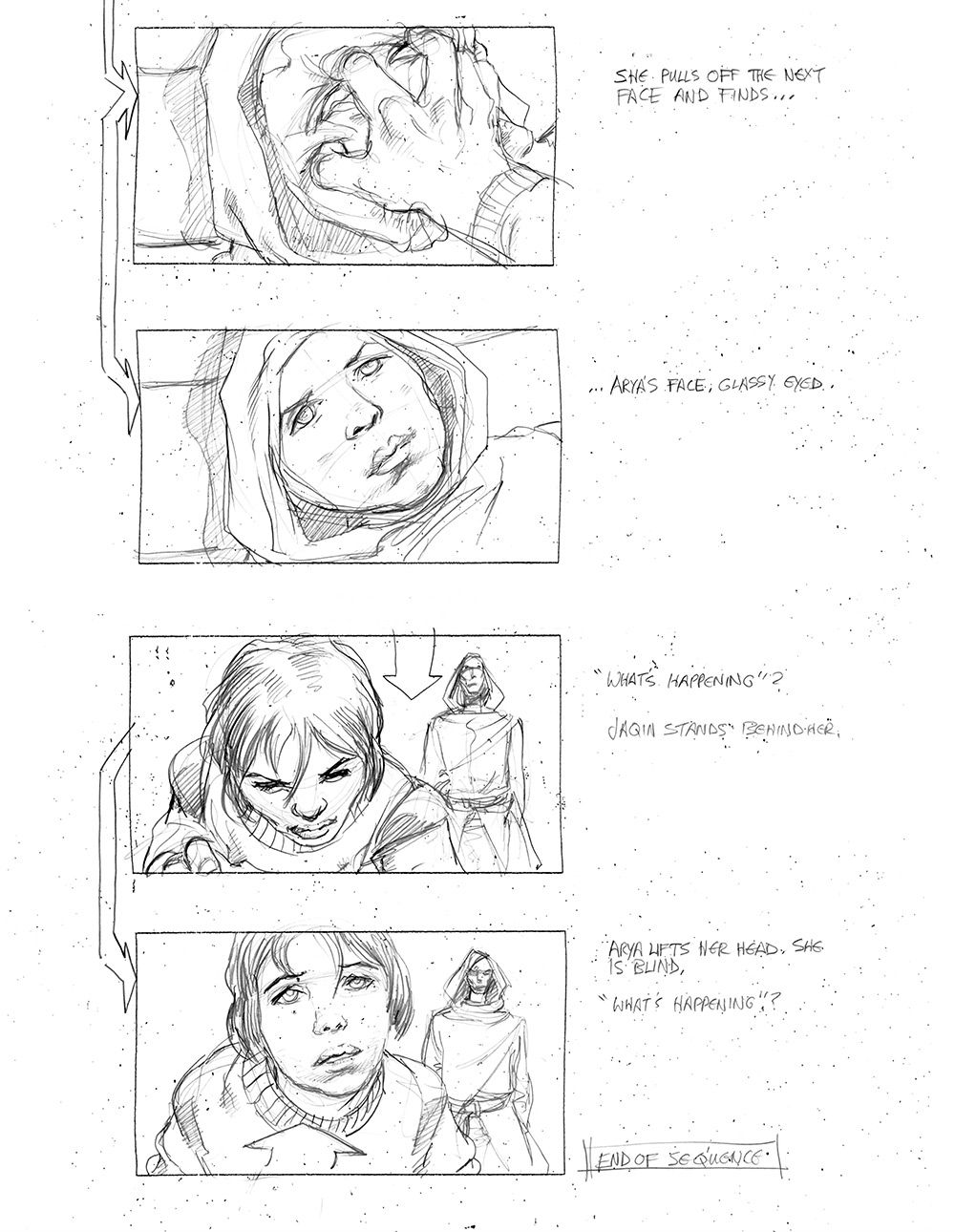 See a Storyboard of Arya\'s Comeuppance
