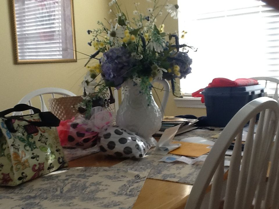 A vase is a flower and a dog