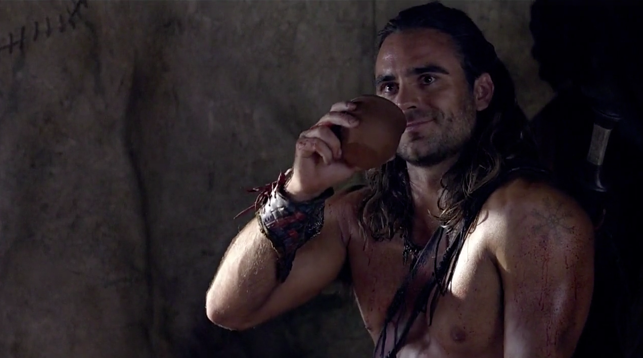 the of gannicus war Spartacus damned