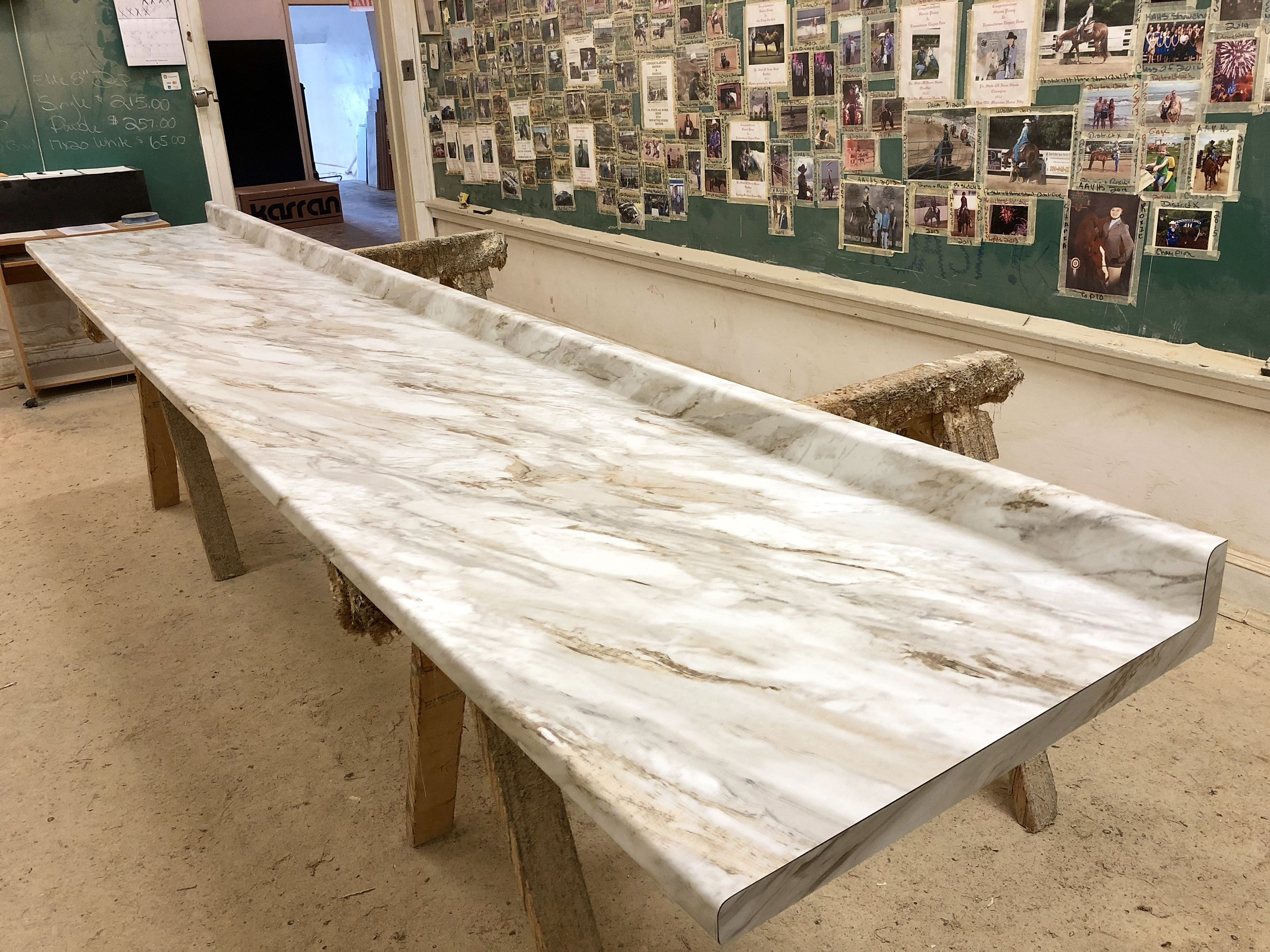 Silk Stone Countertops Love This Color This Is Wilsonarts Drama Marble In A