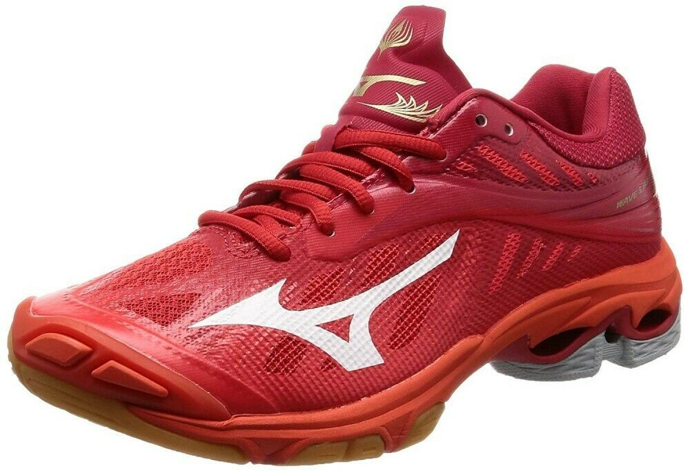 mizuno volleyball shoes red soles