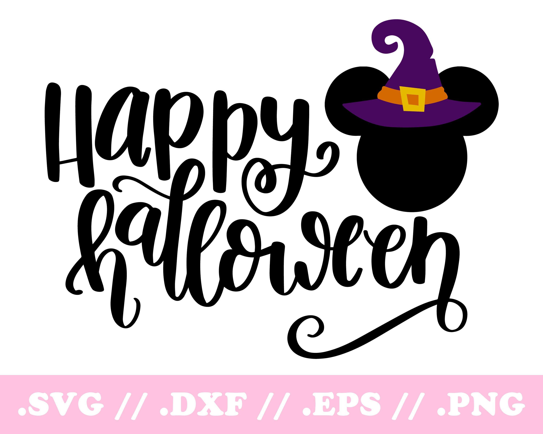 Disney Halloween SVG Disney SVG DXF Disney Halloween