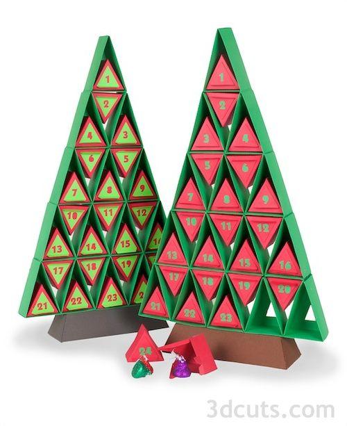 Advent Calendar Tree A New Design Christmas Tree Advent Calendar Christmas Projects Christmas Advent Calendar