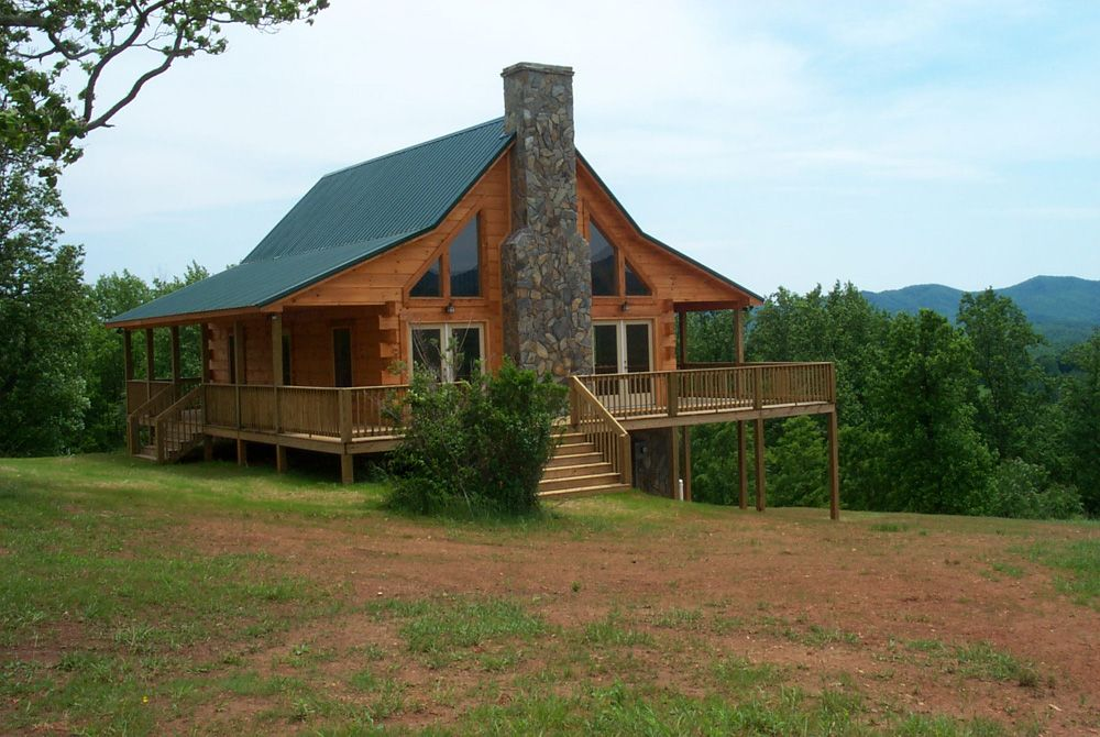 Blue Ridge Log Cabin Homes Linville Model Google Search