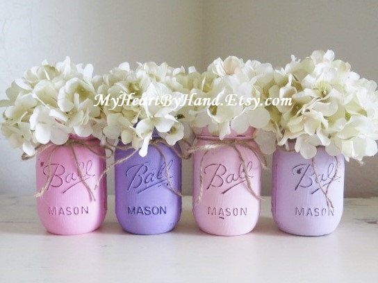 Mason Jar Baby Shower Decorations Pinrosemarie Damianiprado On Communion  Pinterest  Baby