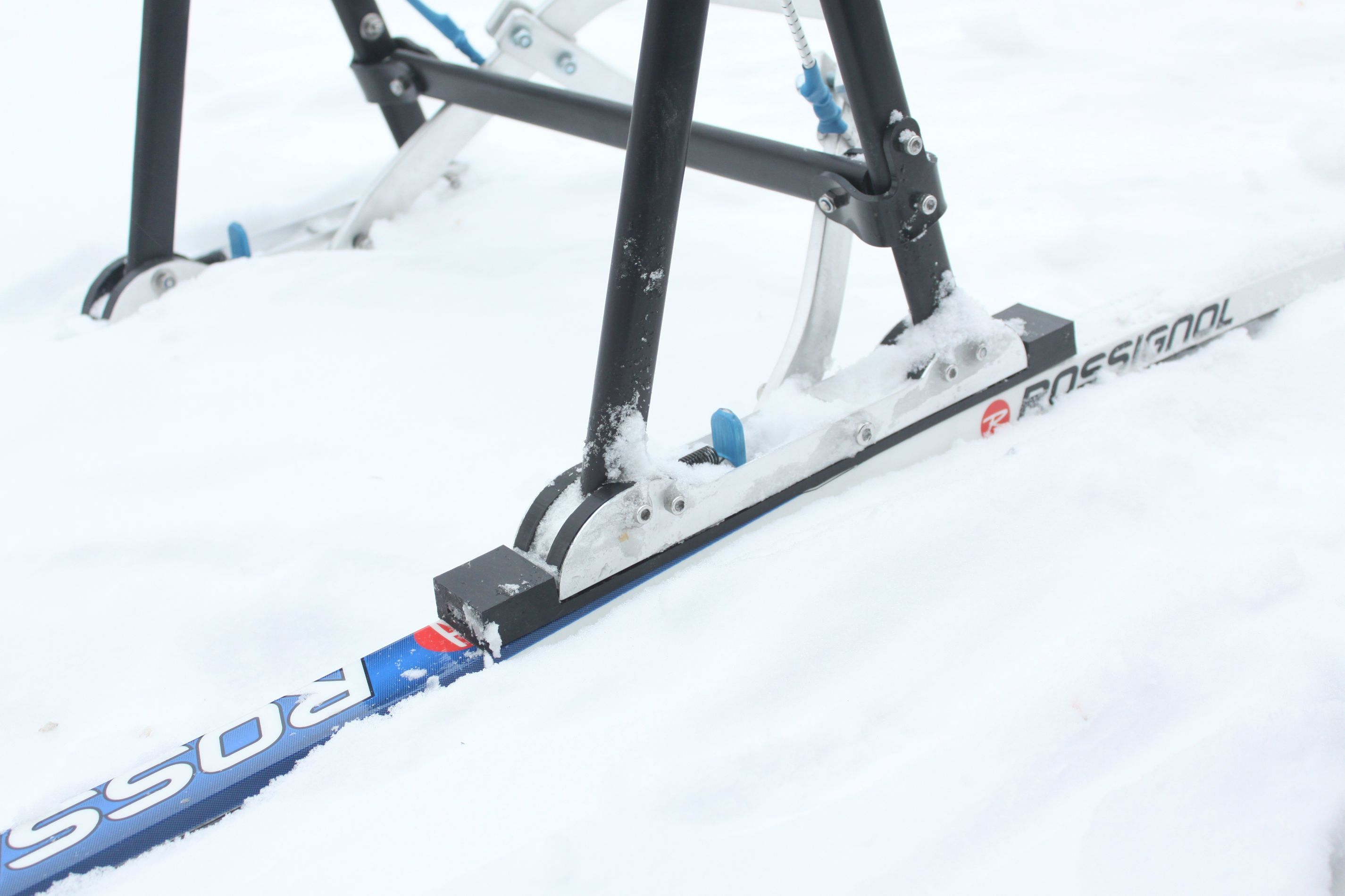 ZZS Mini суперлегкая нарта для 12 собак на лыжах и на