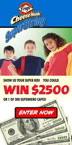 Win $2,500 Plus 1 of 300 Superhero Capes! #money #sweeps