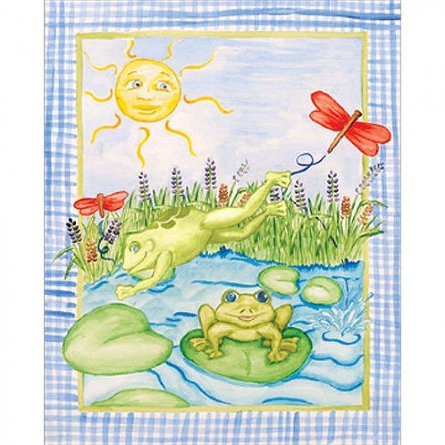 Art 4 Kids Leap Frog Wall Art - 21437 | wall art | Pinterest | Walls