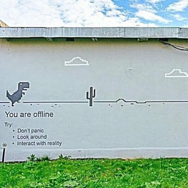 Clever street art #banksyart