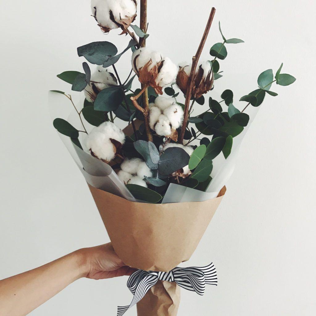 Cotton Magic Dried flower arrangements, Dried flower
