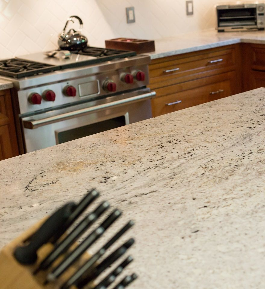 Salinas White Granite | Our countertops | Pinterest