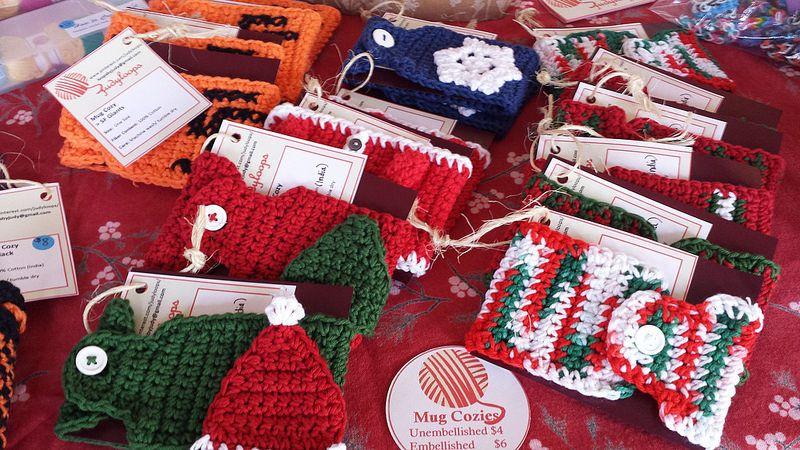 Craft Table at Aptos Craft Fair