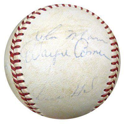 1969 Pilots Team 20 Signatures Autographed Al Cronin Baseball Tom Davis Joe Schultz Psa Dna K49262 499 00 This Is An Official American League Autograph
