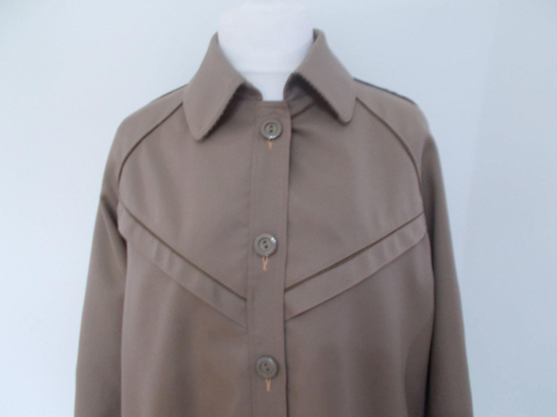 Vintage Bugatti mens rain coat macintosh size large 40