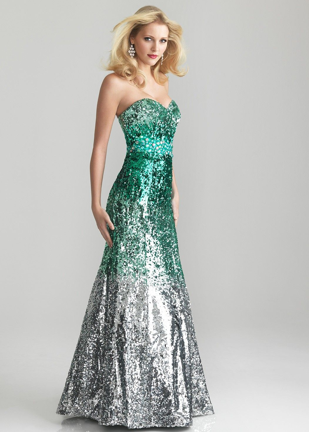 colorful ombre gowns - Google Search   Dresses   Pinterest   Ombre ...