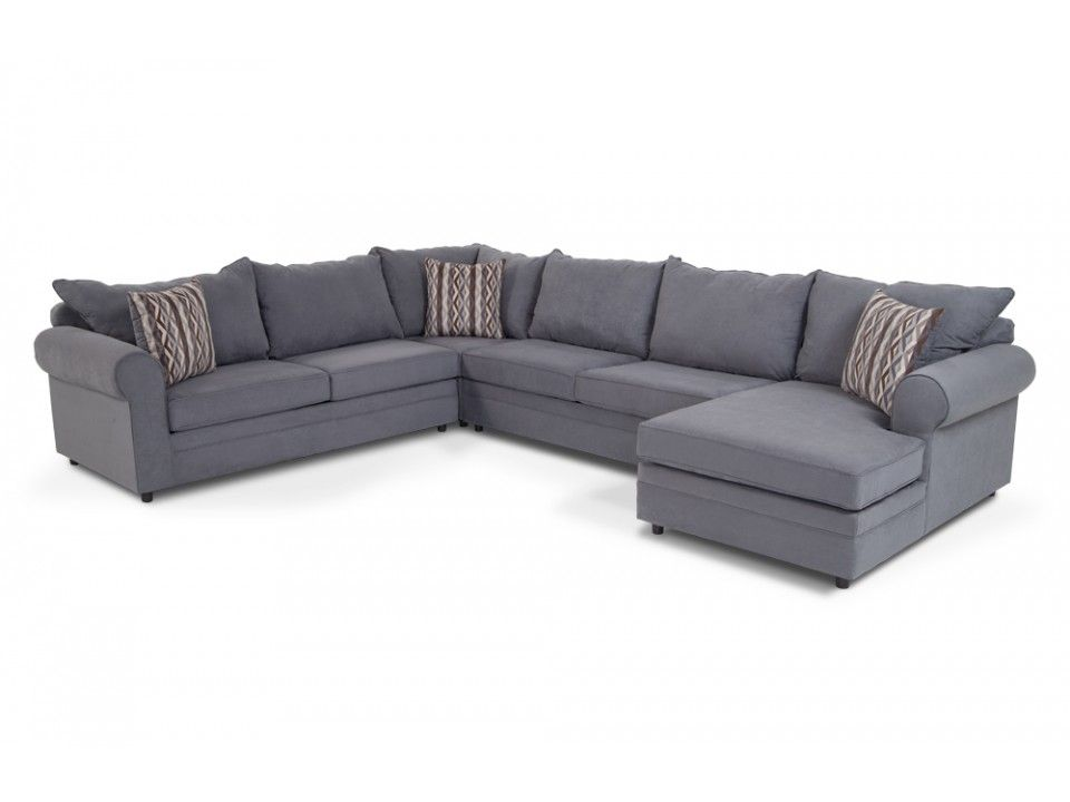 Venus 4 Piece Left Arm Facing Sectional  Sectionals  Living Room Pleasing Discount Living Room Sets Inspiration