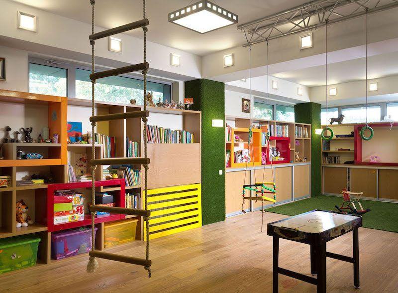 salle de jeu la maison 30 id es d 39 am nagement et d co parfaits charline pinterest. Black Bedroom Furniture Sets. Home Design Ideas
