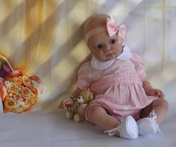"""21/"""" Reborn Doll Parts Kit Cutie"""