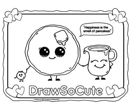 Hi Draw So Cute Fans Get Your Free Coloring Pages Of My Draw So Cute Characters Here Have Fun Colorin Cute Coloring Pages Heart Coloring Pages Coloring Pages