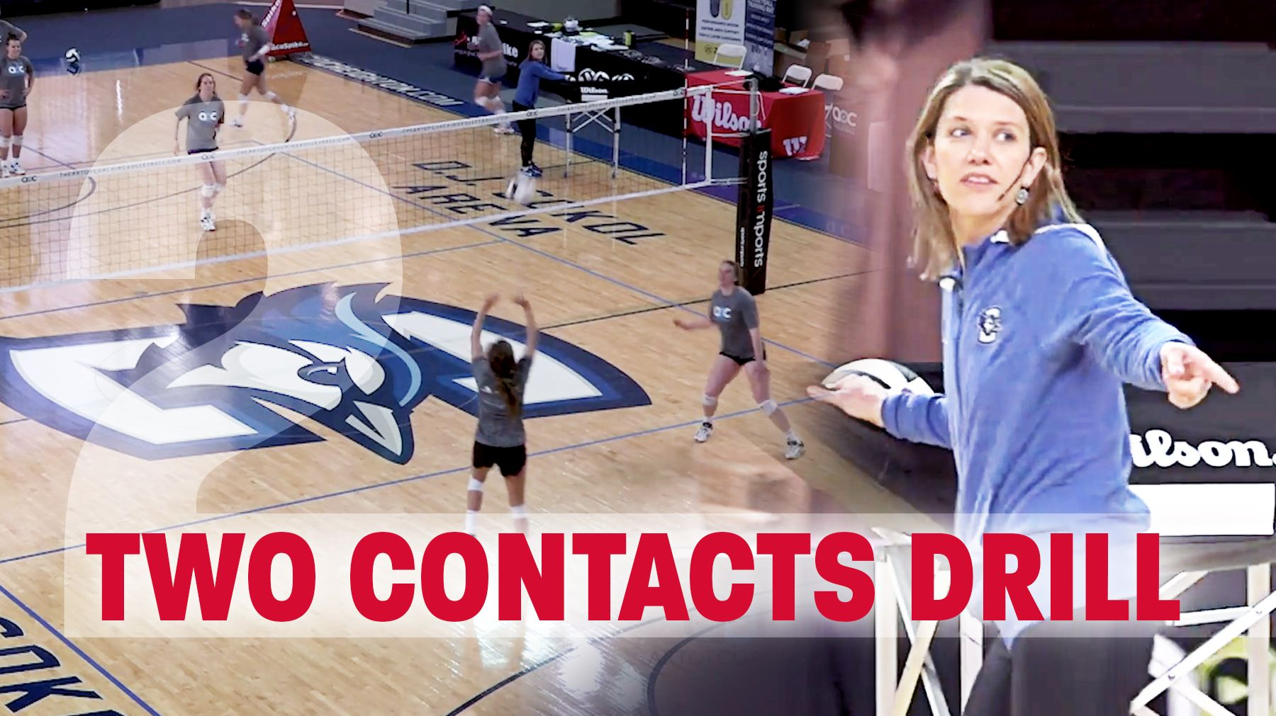Small Group Drill Two Contacts Coaching Volleyball Volleyball Training Volleyball Practice