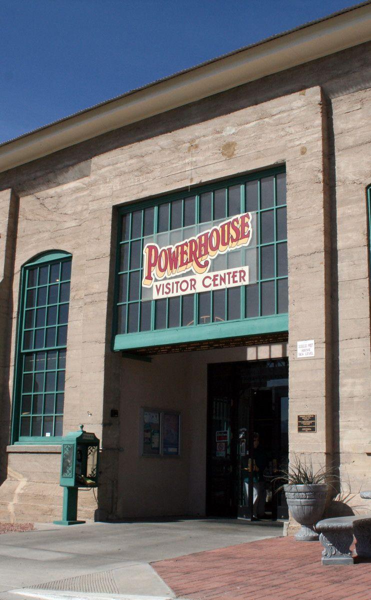 Powerhouse Visitors Center | Travel | Vacation Ideas | Road Trip | Places to Visit | Kingman | AZ | Historic Site | Museum | Tourist Information | Tourist Attraction