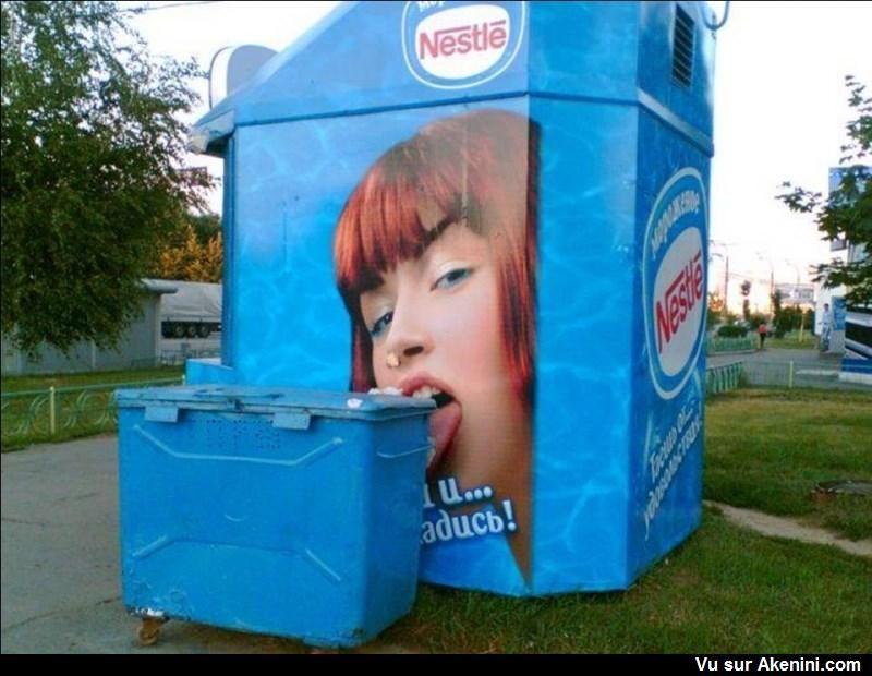 akenini com publicites humoristiques alimentation funny creative food ads