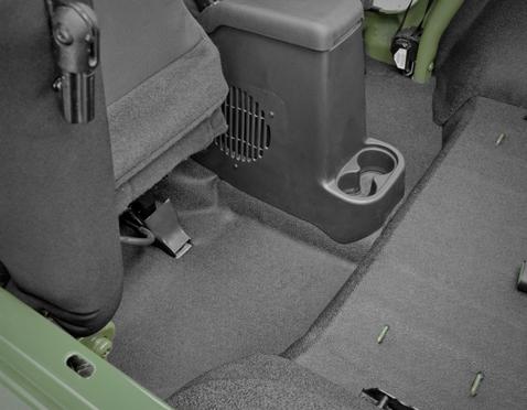 BedTred Jeep, Bed liner, Liner