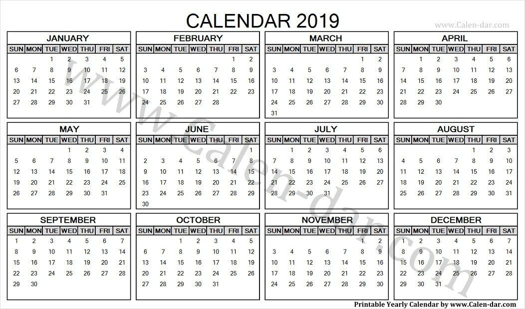Online Calendar 2019 Uk Yearly Calendar 2019 Online calendar