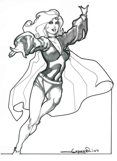 aaron lopresti s g eous supergirl wearing her hip trendy 1970s Easy Costumes 1970s aaron lopresti s g eous supergirl wearing her hip trendy 1970s era costume