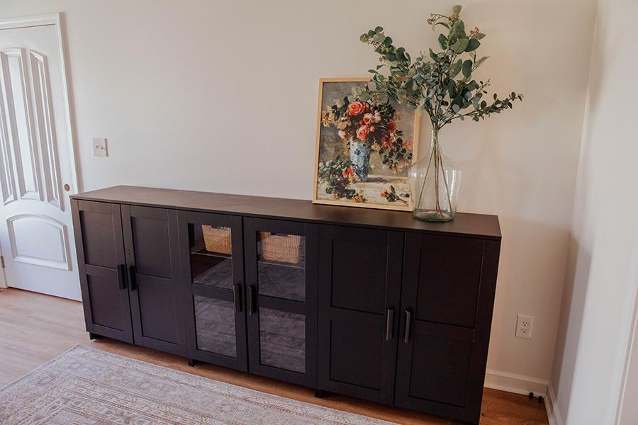 playroomtoy storage ikea brimnes cabinets  dining room