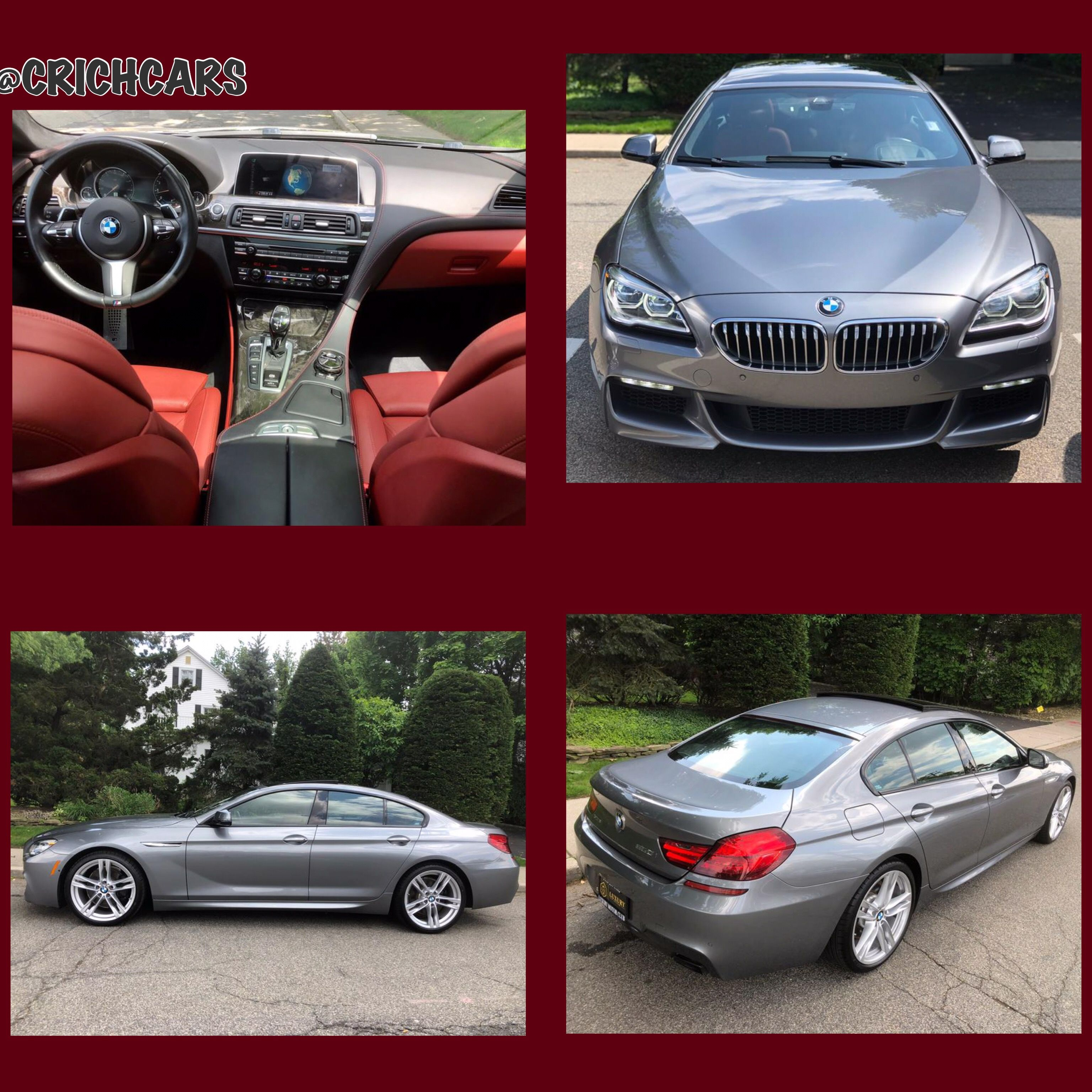 2016 Bmw 6 Series 4dr Sdn 650i Xdrive Awd Gran Coupe 20k Miles Only 499 A Month Text 516 476 1314 Chris Www Crichcars Com With Images Bmw 6 Series Bmw Gran Coupe