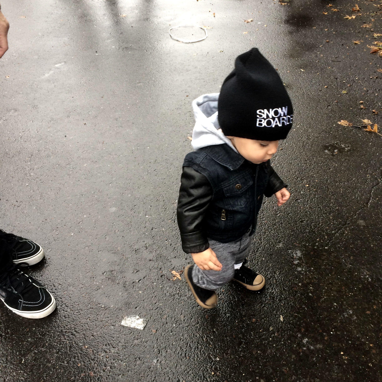 My Grey Toddler Converse Beenie Leather Jacket Hoodie Kids Outfits Toddler Converse Toddler Fashion [ 2448 x 2448 Pixel ]